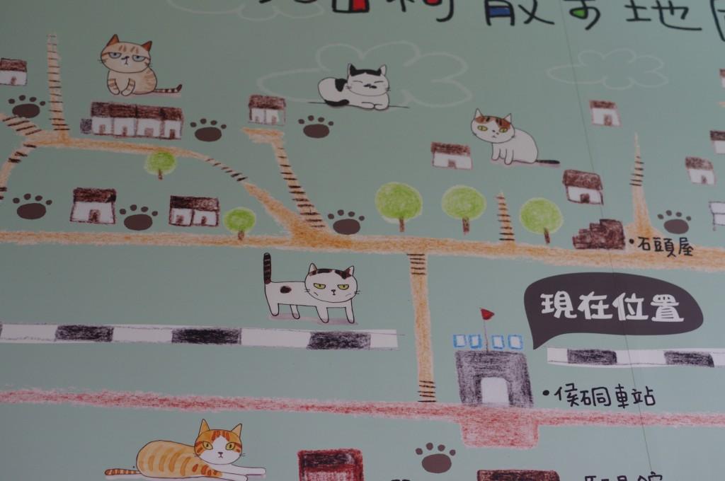 Houtong, un petit village consacré aux chats <3