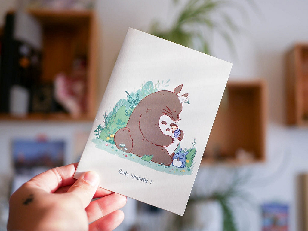 Bientôt une nouvelle collection faire part de naissance Totoro