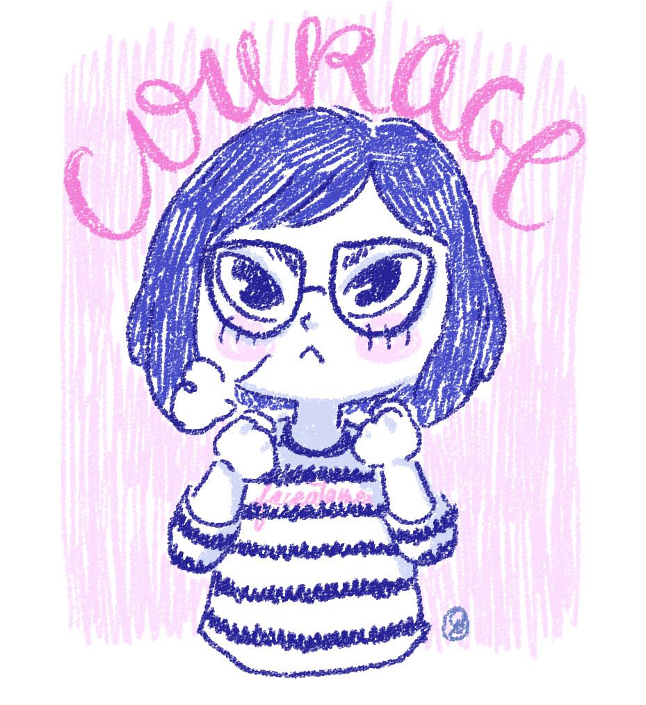 Confinement, courage à tous !