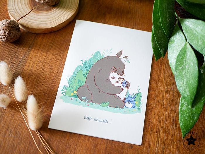 couverture faire part Totoro